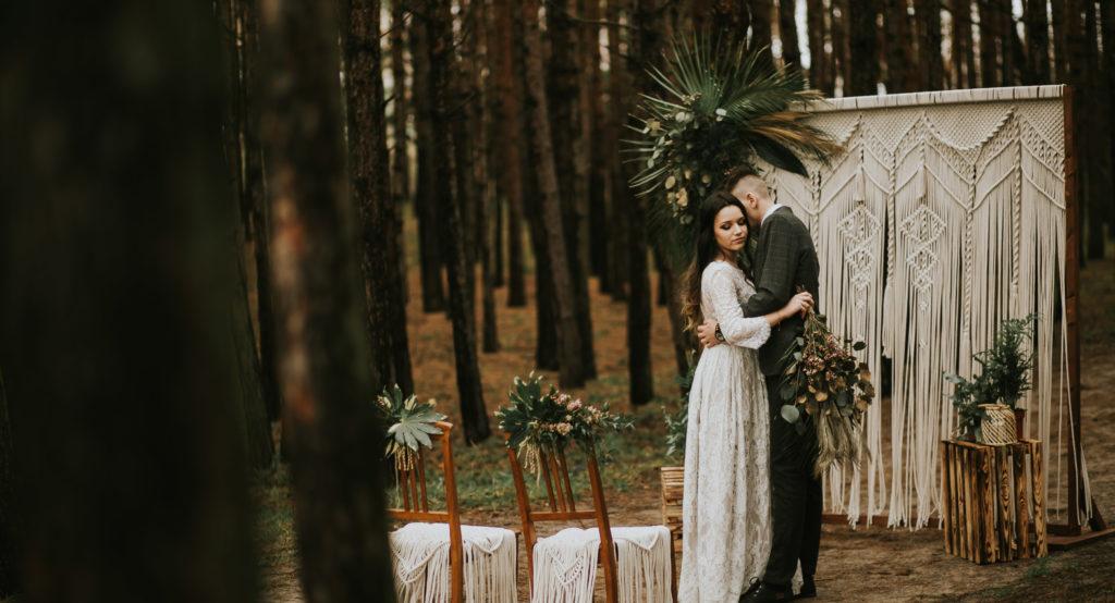 Dekoracje ślubne, Trójmiasto, makramy