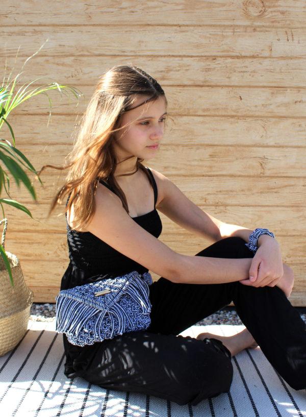 Nerka Chloe pleciona ze sznurka - Filuteria
