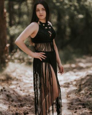 Filuteria - sukienka pleciona w stylu BOHO Filuteria