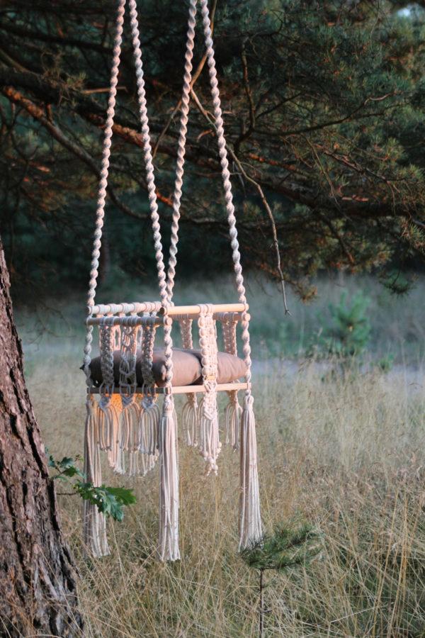 Hustawka pleciona ze sznurka - Filuteria